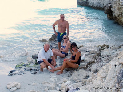 official photos f3e4d 01c91 Lygia   Grigoris Maliotis and Popi   Phivos Nicolaides, they all agree,  that  Vouloumi beach is one of those places that you will never forget.
