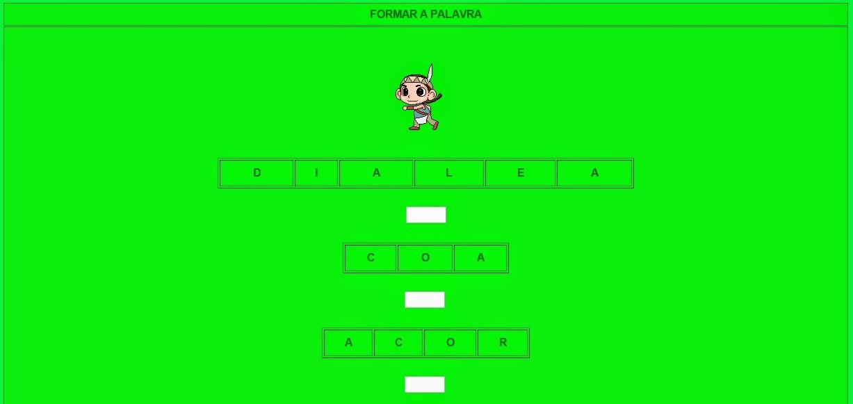 Fonte: http://websmed.portoalegre.rs.gov.br/escolas/obino/cruzadas1/indio1/formar_palavras/formar_palavras.htm