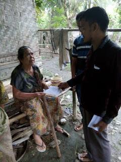 Dalam Rangka menyambut Lebaran LPDA santuni Dhuafa