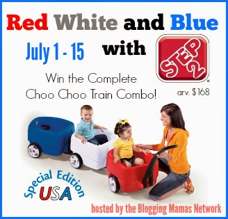 http://blogging-mamas.com/2014/07/go-red-white-blue-step2-usa-choo-choo-giveaway-redwhiteblue/