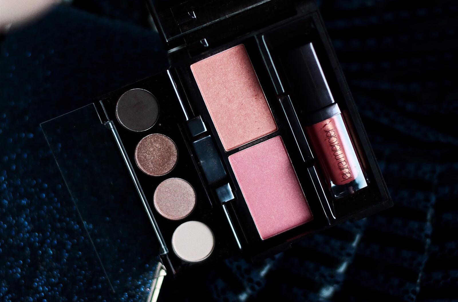 laura mercier glamour to go palette noel 2016 avis test swatches