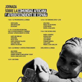 Jornada sobre la comunidad Afro en España