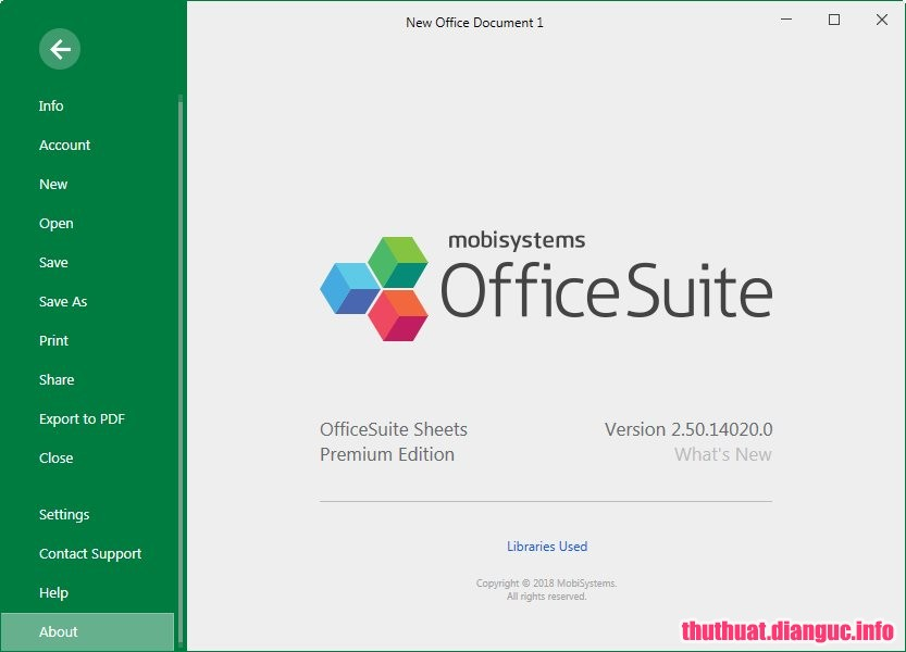Download OfficeSuite Premium Edition 2.50.14020.0 Full Cr@ck