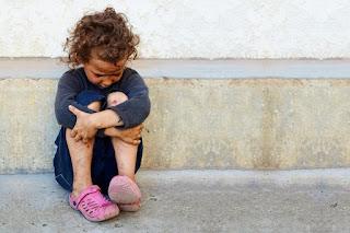 Бездомные дети фото