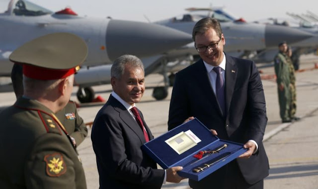 Russia handed to Belgrade six MiG-29 fighter planes