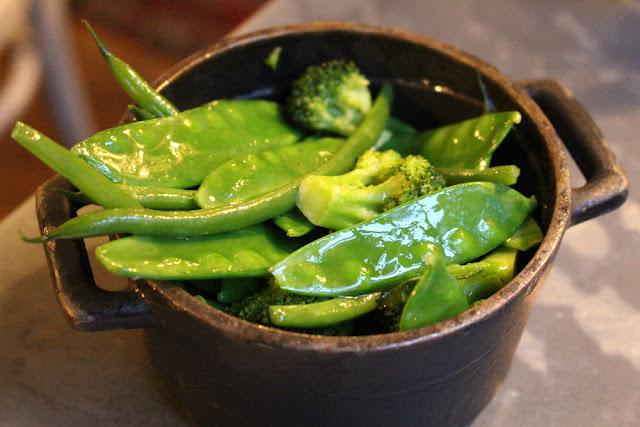 Greens at Kettners Brasserie, Soho, London - restaurant blogger