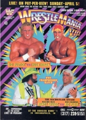 #ProWrestling: The Ultimate Warrior Returns at Wrestlemania 8