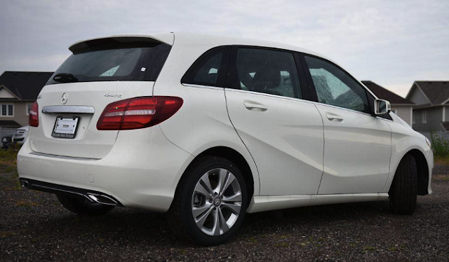 First Drive Review Mercedes-Benz B250 4Matic Car