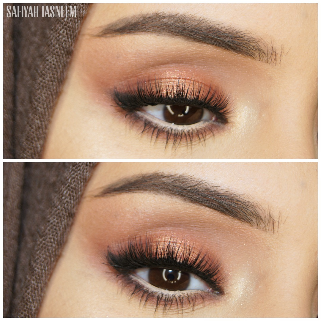 Nude Look Safiyah Tasneem : Naked Heat Makeup Look 3 - He Devil Halo