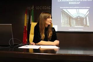 Laura Marroquín Martínez,  Hemeroteca de La Económica