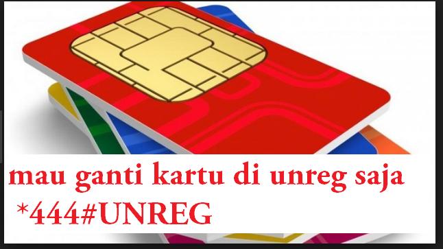 Cara Unreg Registrasi Kartu Sim Prabayar Info Teknologi Informasi Dan Komputer