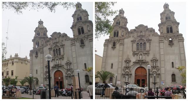 Iglesia de la Virgen Milagrosa, Lima, Peru