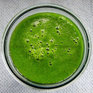 Lots of Greens Ginger-Apple Smoothie
