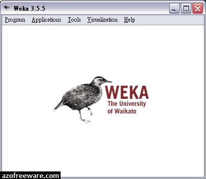 Weka 3.5.5 - Data Mining軟體 - 阿榮福利味 - 免費軟體下載