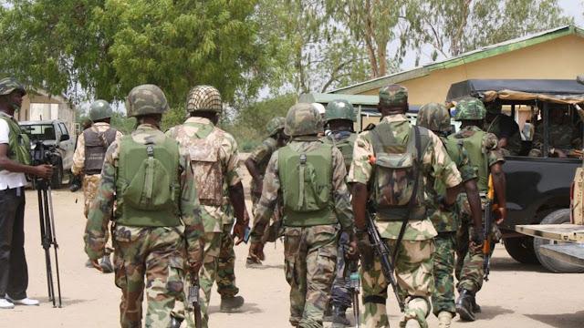 Sojoji sun binne sojoji 14 da 'yan Boko Haram suka kashe