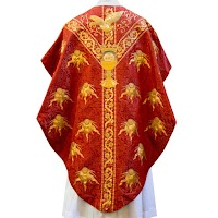 G.F. Bodley's Pentecost Chasuble