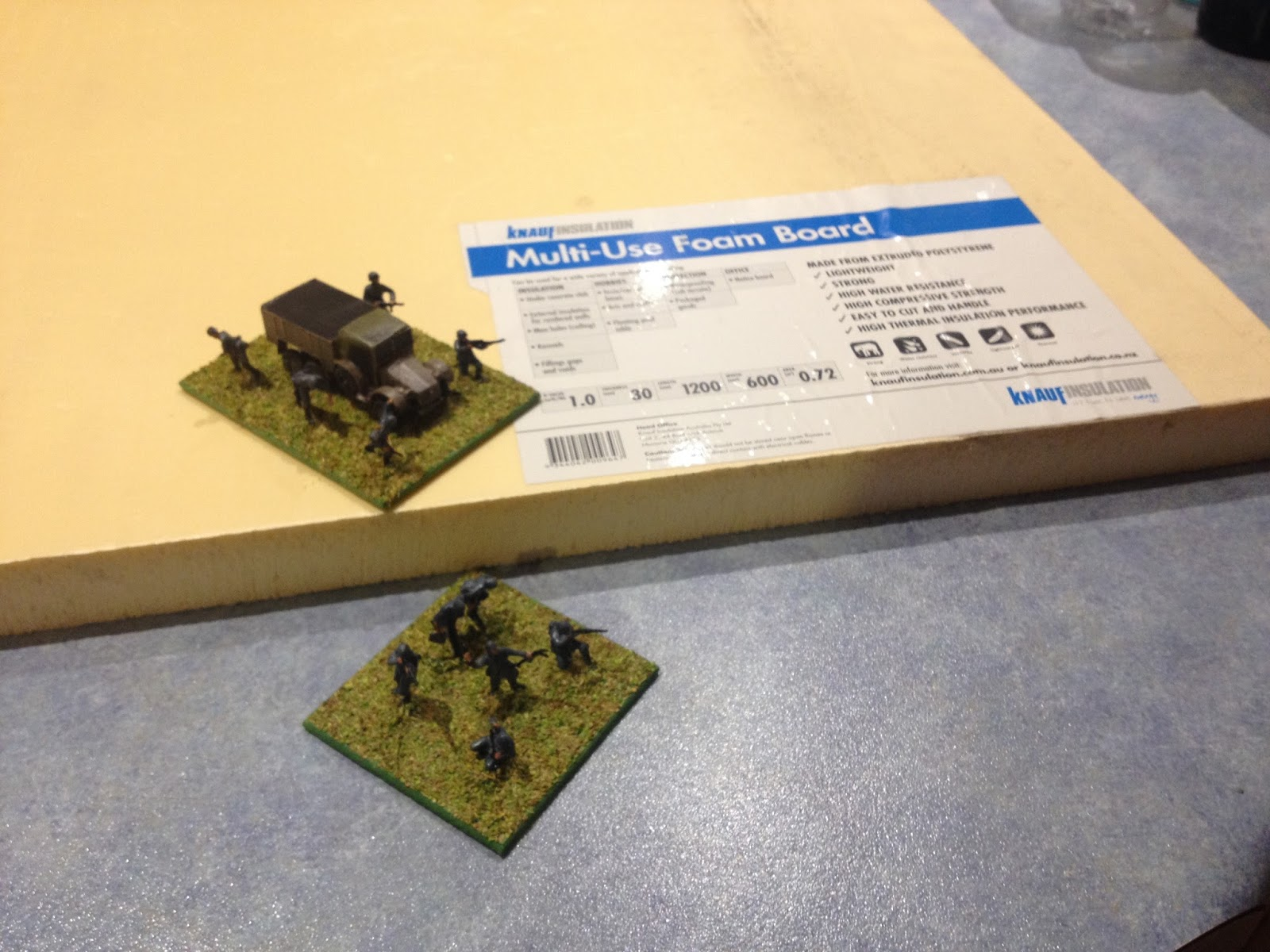 Grid based wargaming - but not always: Hardware and