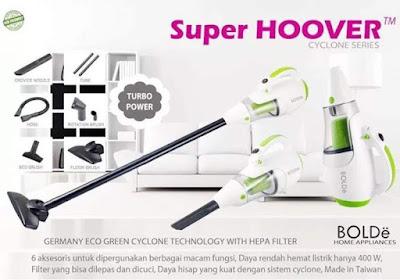 Kelebihan handheld vacuum cleaner / genggam