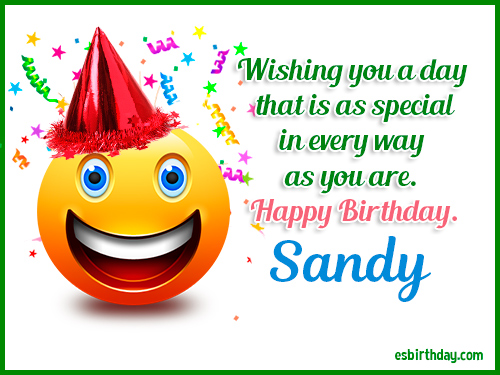 Happy Birthday Sandy Happy Birthday Images For Name