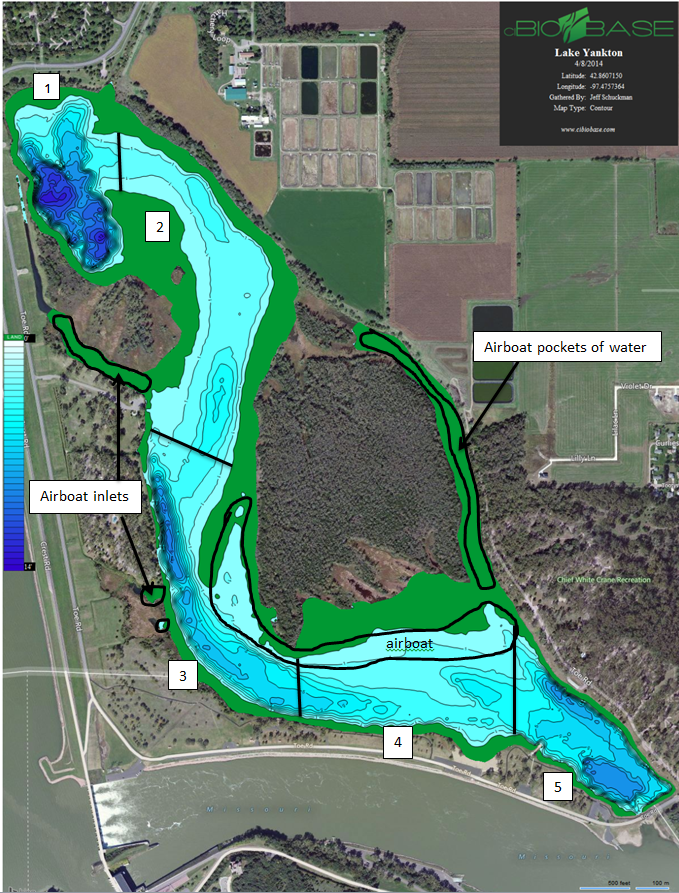 Biobase biobase project propels jeff schuckman to for Nebraska game fish and parks