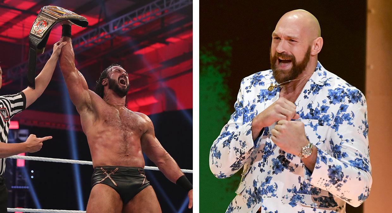 Drew McIntyre e Tyson Fury se provocam nas redes sociais