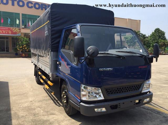 Hyundai iz49 thùng mui bạt