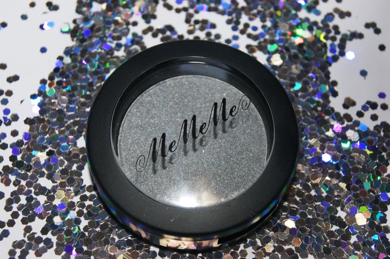 Mememe Mono Eyeshadow in Steel - Review   The Sunday Girl