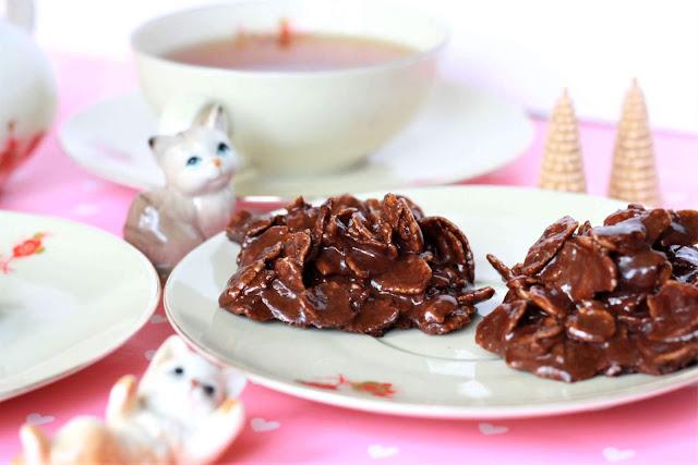 Cornflakes Schoko-Kekse