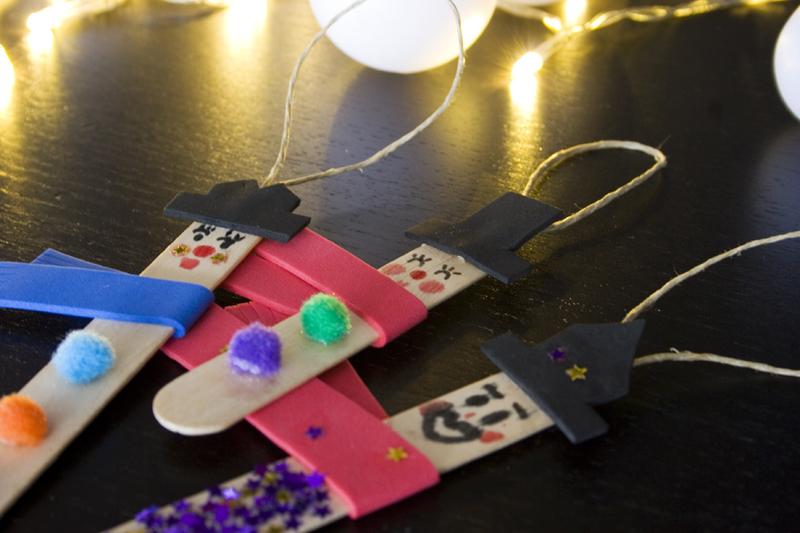 Decorar en familia: Diy colgantes navideños para el catálogo de Imaginarium7