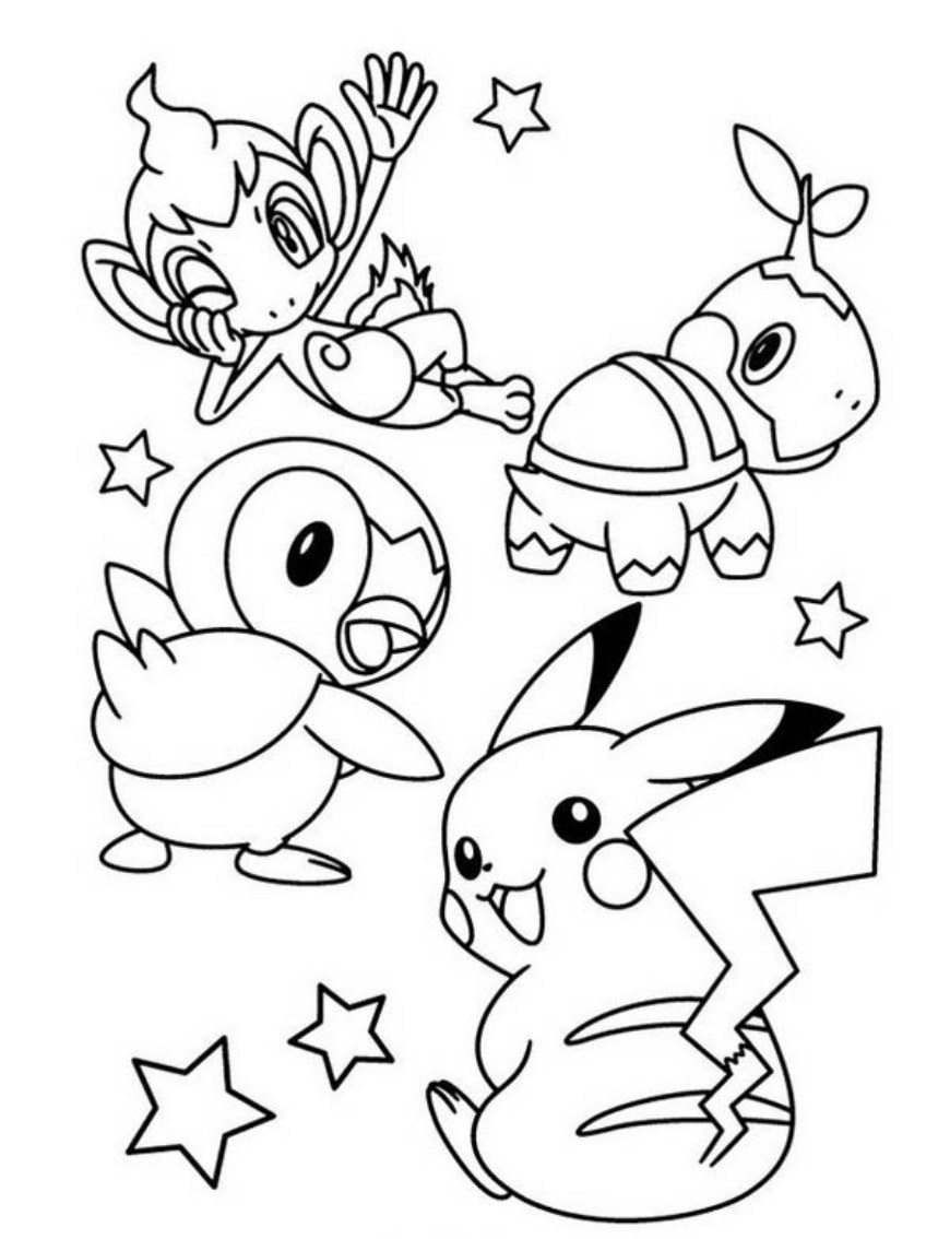 Best HD Cute Pikachu Coloring Pages Free   Big Collection Free ...