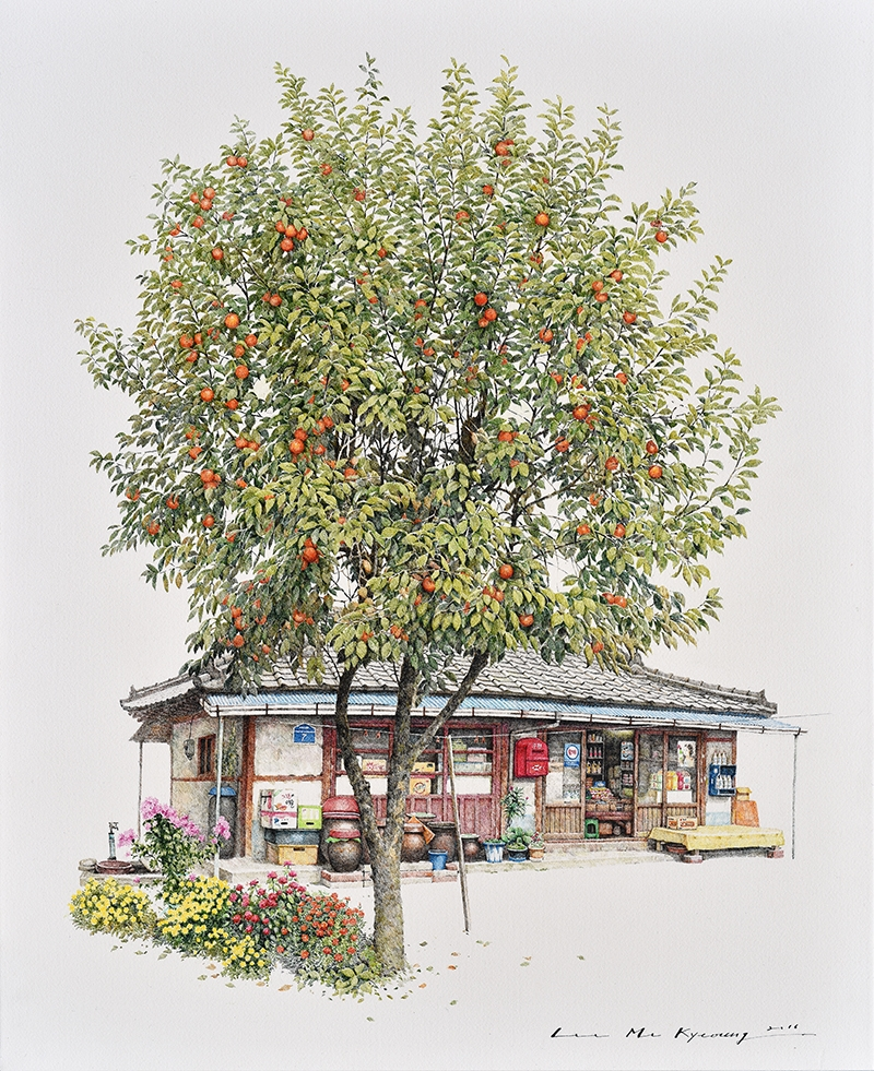 08-Persimon-Store-Me-Kyeoung-Leehas-Pencil-Drawings-of-Convenience-Stores-in-South-Korea-www-designstack-co
