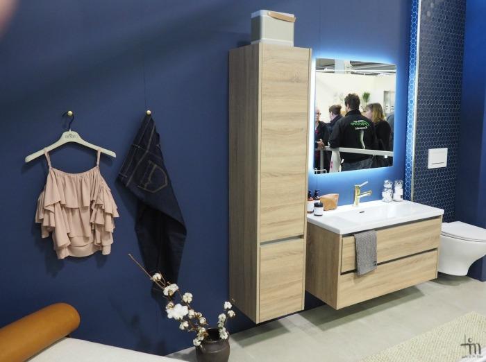 Åblogitalon kylpyhuone Rakenna ja Sisusta -messuilla