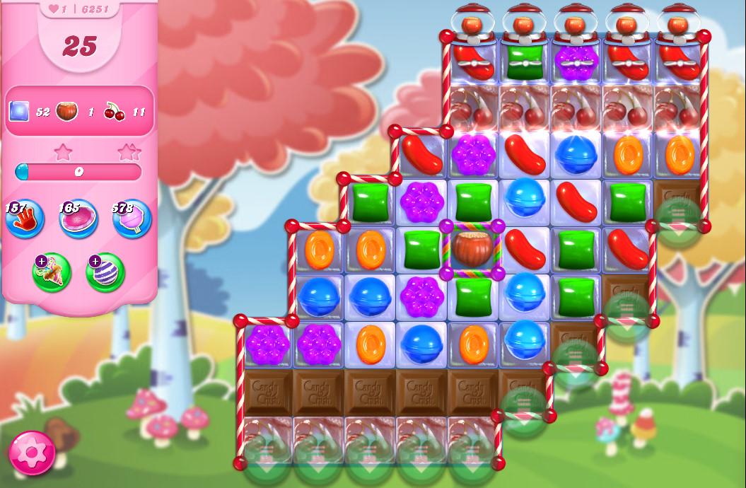 Candy Crush Saga level 6251