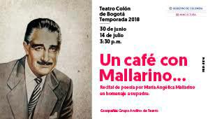 Un Café Con Mallarino | Teatro Colon