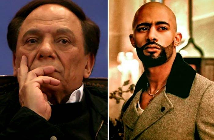 محمد رمضان لعادل إمام : ستظل قيمة وقامة كبيرة لمصر