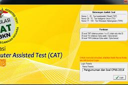 Simulasi CAT CPNS Online Gratis Lengkap Tes Seleksi Kompetensi Dasar (SKD/TKD) Mencakup TWK, TIU dan TKP
