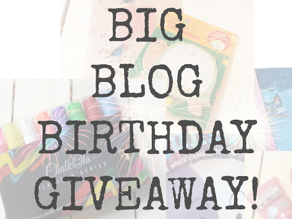 Big Blog Birthday Giveaway!