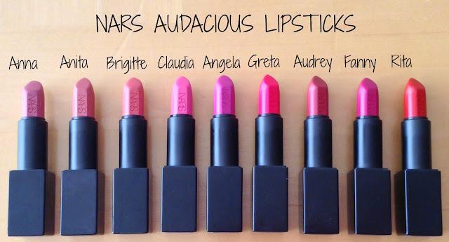 Image result for nars lipsticks