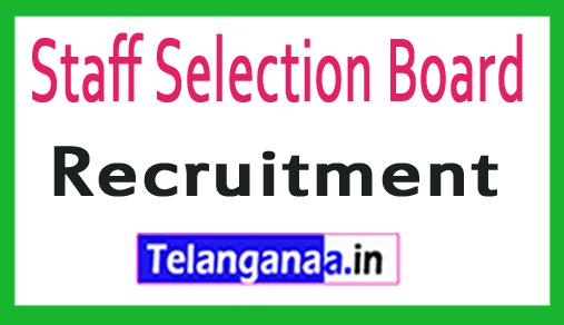 Staff Selection Board SSB Recruitment