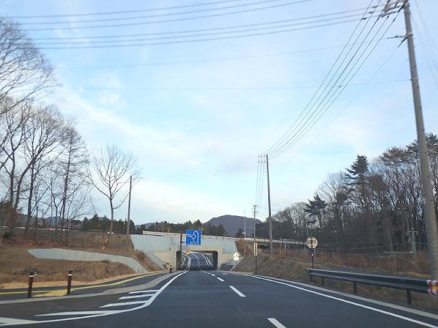 軽井沢 借宿バイパス