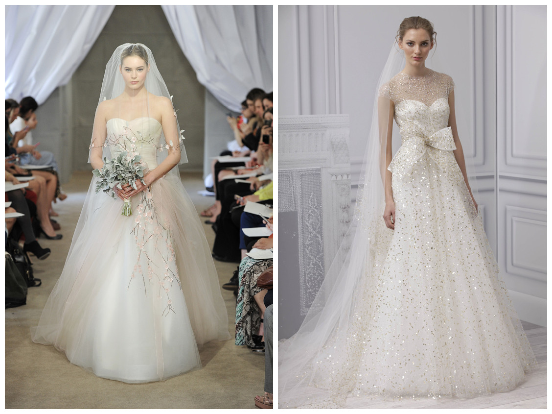 Sparkly Ball Gown Wedding Dresses: RainingBlossoms: 5 Biggest Wedding Gown Trend For Spring 2013