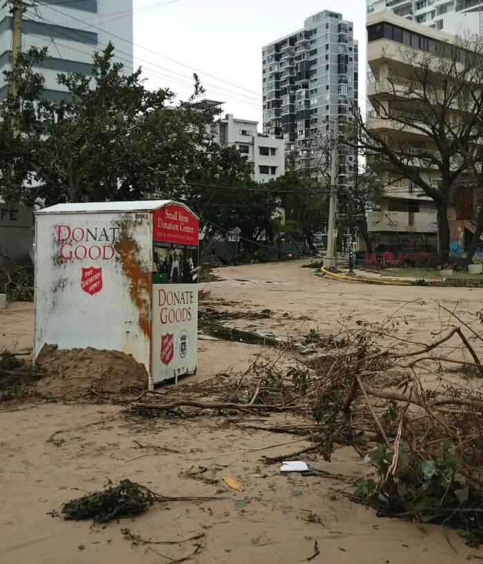 Daños causados por el Huracan Maria en Puerto Rico