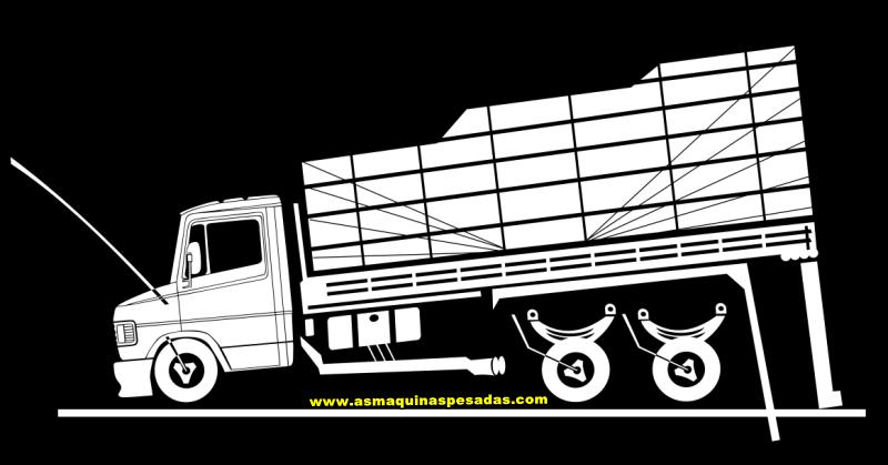 Desenhos Para Adesivos De Caminhoes As Maquinas Pesadas