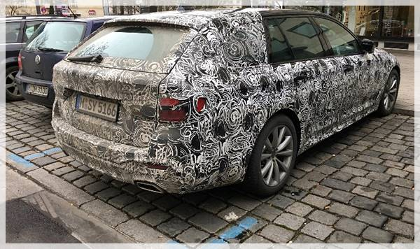 2017 BMW G31 5 Series Touring makes a look in Germany