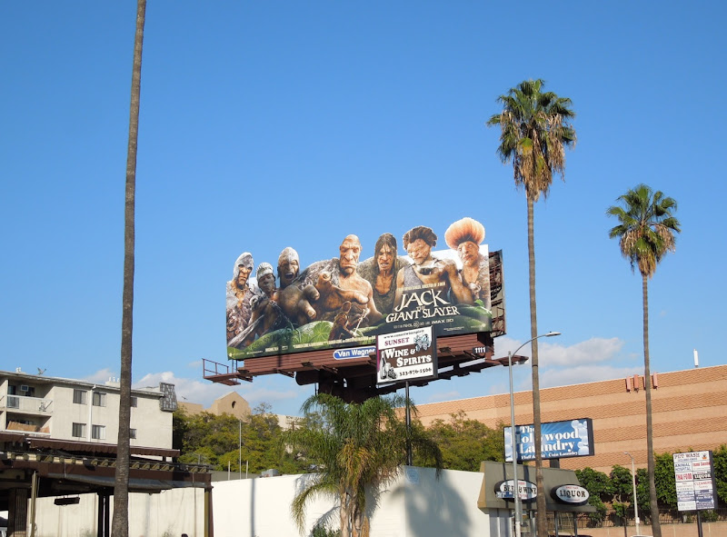 Jack Giant Slayer special extension billboard