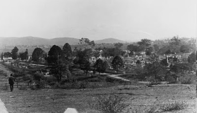 South Brisbane Cemetery, Dutton Park, circa 1898. (John Oxley Library).