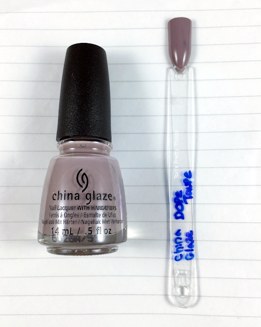 China Glaze Dope Taupe Swatch