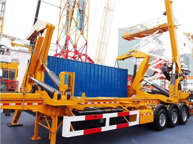 Shandong Fudeng Automobile Co ,Ltd: 3 axle container side
