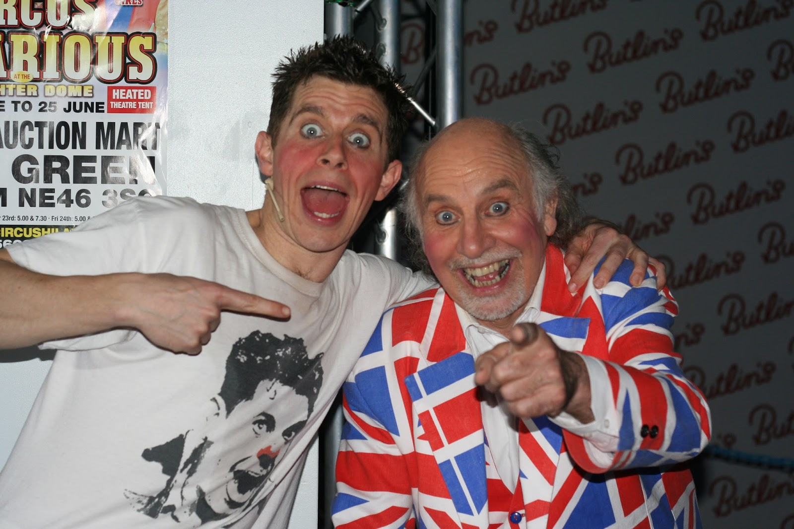 Cirque Du Hilarious - Danny Adams and Clive Webb