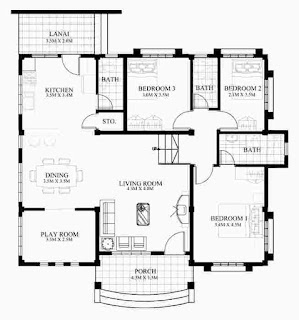 Marvelous Small House Design with Floor Plan